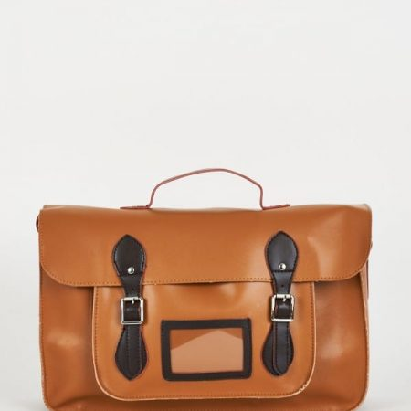 Satchel Bag In Tan