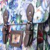 All-Over Floral Print Satchel in Floral