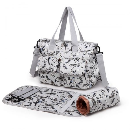 MUMMY MATERNITY BABY NAPPY DIAPER CHANGING BAG MAT WIPE CLEAN
