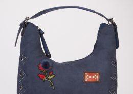 BLUE- patchwork-encrusted-handbag-blue