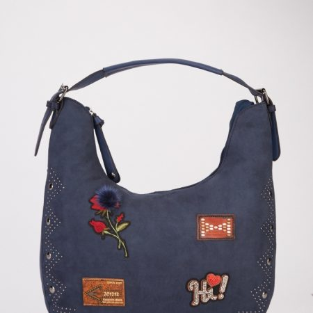 BLUE- patchwork-encrusted-handbag-blue