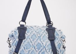 LIGHT BLUE DENIM BAG
