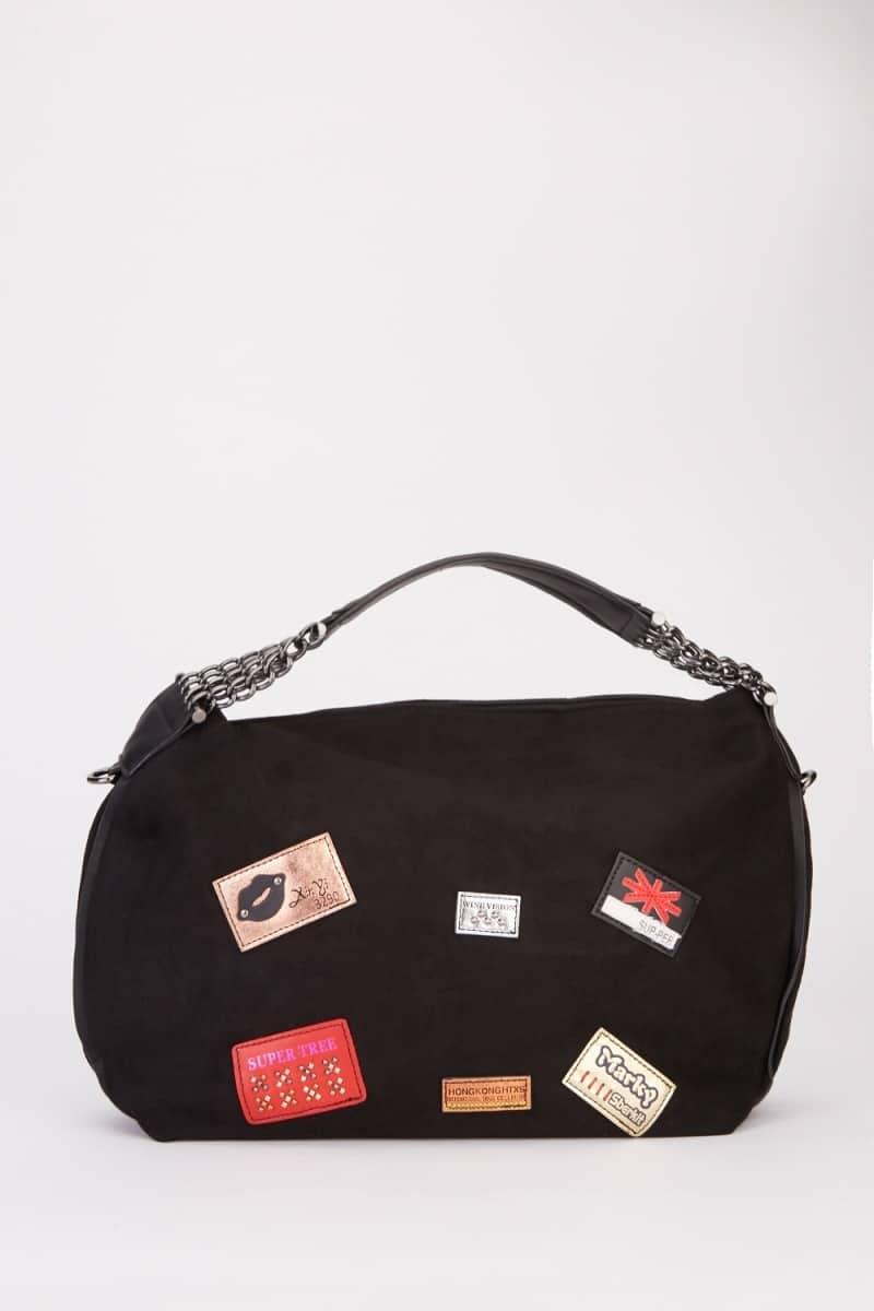 Stitched Patchwork Handbag Stitched Patchwork Handbag Stitched Patchwork Handbag Stitched Patchwork Handbag VIEW FULLSCREEN STITCHED PATCHWORK HANDBAG